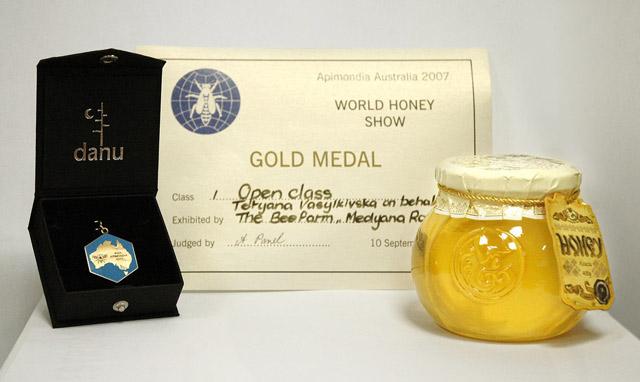 Український мед з білої акації з